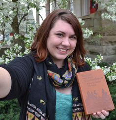 Erica Cook, our VISTA Youth Outreach and Volunteer Coordinator #carnegieshelfie