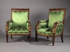 A Fine Mahogany And Gilt-Bronze Second Empire Salon Suite