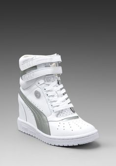 PUMA Sneaker Wedges by Mihara