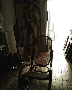 End of the day ....Thonet...Lempicka. #inspiration #artgallery