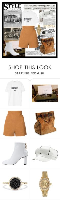 """""""Put The Money In The Bagsffg"""" by faaliyah49 on Polyvore featuring Bonnie Clyde, Givenchy, Soha, Rosetta Getty, Effy Jewelry, Rolex, GUESS, men's fashion and menswear"""