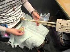 ペシュカさんによるカード織り
