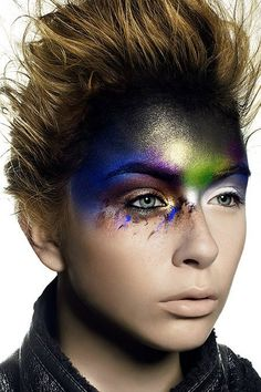 Earth makeup hair element inspiration