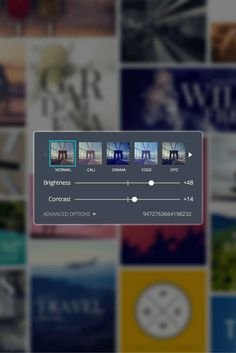 So this is how you get a consistent look! A simple trick Canva's senior designer uses to enhance her images and achieve brand consistency [with templates]