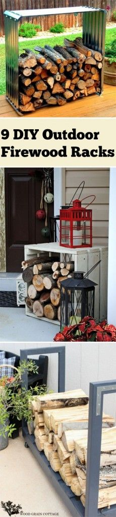 Creative Firewood Rack And Storage Ideas Page Of - Creative firewood storage ideas turning wood beautiful yard decorations