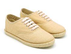 Tienda online de calzado infantil Okaaspain. Alpargata de lona tipo slip on con elástico. Calidad al mejor precio hecho en España.