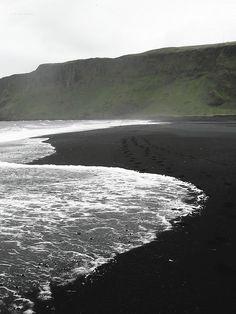 Vik Black Beach, Iceland