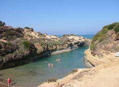 Corfu - Sidari : le canal de l'amour
