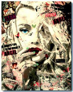"""Saatchi Online Artist Yannick Hamon; Painting, """"Dakota"""" #art"""