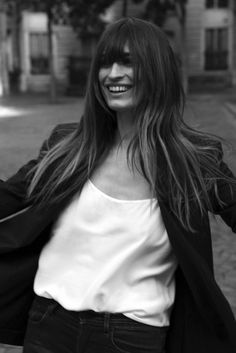 Caroline de Maigret Is The Star Of Equipment's Fall Lookbook via @WhoWhatWear