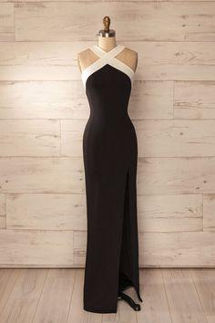 Cross Straps Prom Dress,Split Prom Dress,Mermaid Prom Dress,Fashion