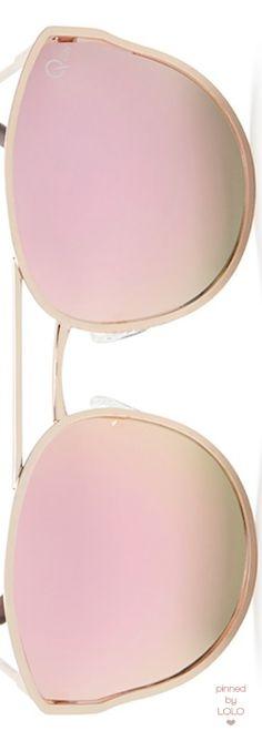 Quay Cherry Bomb Mirrored Cat-Eye Sunglasses