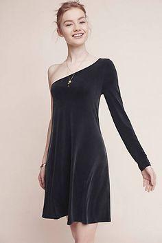 Alessandra One-Shoulder Dress @anthropologie