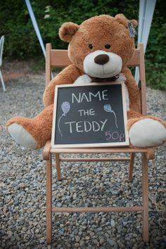 Name the teddy game