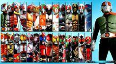 All Kamen Riders - mais em http://universo-tokusatsua.blogspot.com.br