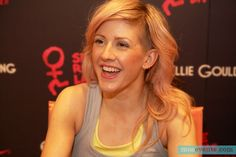 Ellie Goulding's recent hair cut.  I LOVE it.