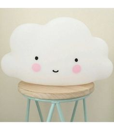 The touch cloud lamp (with timer) Cloud Lamp, Cloud Pillow, Cute Pillows, Diy Pillows, Cushions, Cloud Craft, A Little Lovely Company, Baby Deco, Cloud Lights