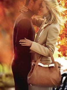 Sun light, love, couple, autumn romance