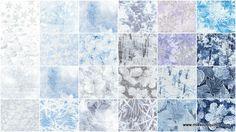 Frost Glitter Charm Pack - Maria Kalinowski - Kanvas Studios