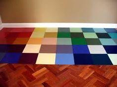 Rubber floor for basement