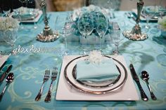 tiffany Party Decorations Centerpieces | Crystie's blog: We use custom built BAMBOO wedding arbors draped in ...