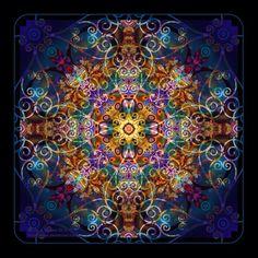 Mandala. Círculo de equilíbrio