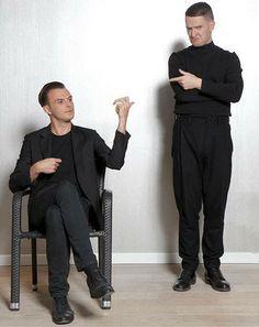 Theo Hutchcraft & Adam Anderson = HURTS...  Und 60?