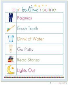 20 Printables that Will Help Organize Everything - Page 2 of 21 -