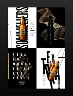 Flyer And Poster Design, Graphic Design Posters, Flyer Design, Branding Design, Ads Creative, Creative Posters, Craft Beer Shop, Wine Bottle Design, Beer Poster