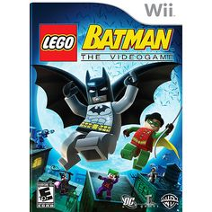 Playing Lego Batman on the Wii