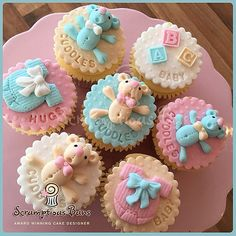 Baby Shower Cupcakes | Scrumptious Buns Cakes & Cake School