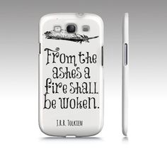 Lord of the Rings Quote Premium Phone Case - White - iPhone Case 4/4S/5 & Samsung Galaxy