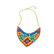 Fashion Jewelry Hsn Bajalia Bib Necklace Warrior Chain 2-tone Attractive Fashion Necklaces & Pendants