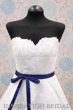 1283 vintage lace 50s 60s short wedding dress