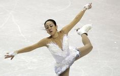 Mao Asada of Japan performs during the ladies free skating at the ISU World Figure Skating Championships in London, Ontario, March 16, 2013.