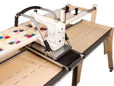 Husqvarna Viking Mega Quilter with Inspira Quilting Frame Cruise ... : long arm quilting frames - Adamdwight.com