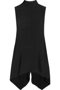 RICK OWENS Asymmetric Cady Top. #rickowens #cloth #top