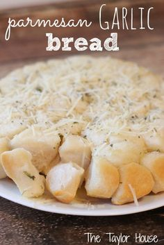Best Garlic Bread Recipe, Parmesan Garlic Bread