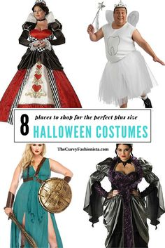 8 Places to shop for plus size halloween costumes