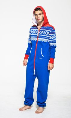 Super hot jumpsuit. (... I can't judge because I would totally wear this too.)