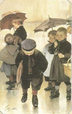 «Смиренный лeтописец детства...» Henry Jules Jean Geoffroy 1853 - 1924 Жюль Анри Жан Жоффруа родился во Франции, в кантоне Марен региона Пуату – Шаранта 1 марта 1853 года. В 18 лет, взяв…