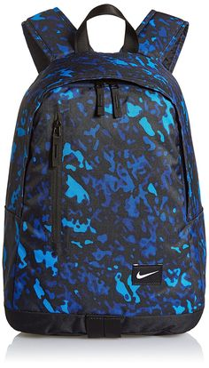 Nike Graphic Backpack, Medium (Blue/Black): Amazon.in: Sports, Fitness & Outdoors