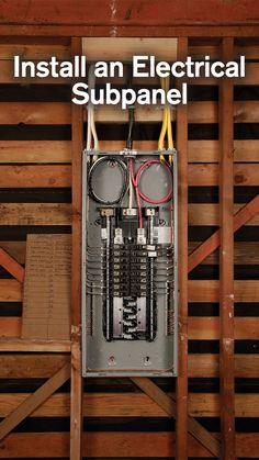 A neatly wired electrical panel is safer and easier to troubleshoot. Read the article - Fine Homebuilding Electrical Panel Wiring, Electrical Work, Electrical Projects, Electrical Installation, Electrical Engineering, Single Wide Remodel, Electrical Breakers, Breaker Box, House Wiring