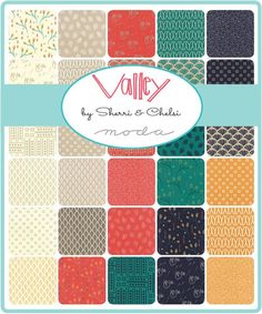 Description : Designed by Sherri and Chelsi from A Quilting Life for Moda, this hand cut fat quarter bundle has 32 - 18 in x inch pieces. Designer: Sherri & Chelsi Line: Valley Manufacturer: Mod Moda Jelly Rolls, Cut Fat, Teal Background, Charm Pack, Fabric Squares, Pattern Design, Layers, Quilts, Handmade Gifts
