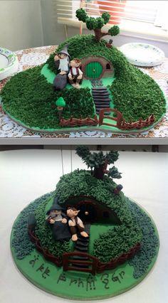 hobbit cake!