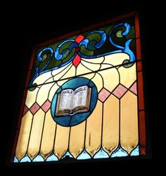 Stained Glass - Holy Bible, at Provenance in Philadelphia