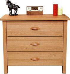 Contemporary Drawer Chest sturdy Oak Wood Classic Finish Bedroom Furniture New #VentureHorizon #Contemporary #Furniture #Bedroom #Drawer #Chest