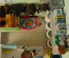 miniature tack room | 12th Scale Tack and Feed Room | FL Model Horse Forum