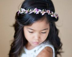 first communion hair accessories white flower crowns for