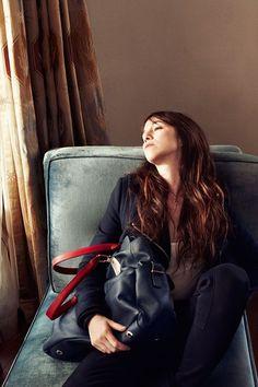 Drew Barrymore Photographs Charlotte Gainsbourg for Tommy Hilfiger